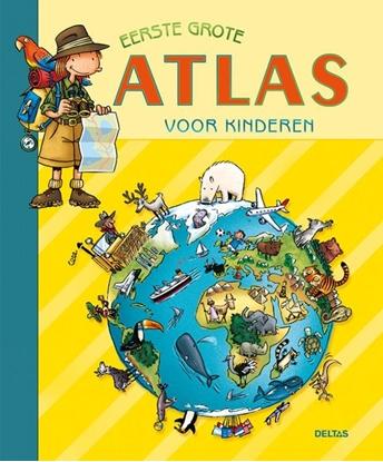 Afbeeldingen van Eerste grote atlas voor kinderen