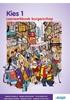 Afbeelding van Kies 1 burgerschap leerwerkboek