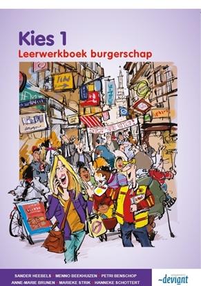 Afbeeldingen van Kies 1 burgerschap leerwerkboek
