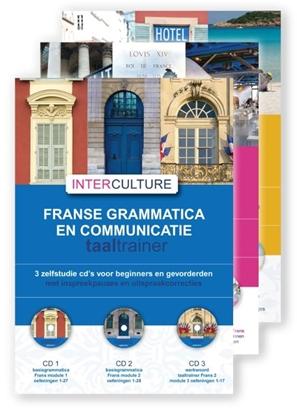Afbeeldingen van Interculture Frans set 9 cd's Taaltrainer