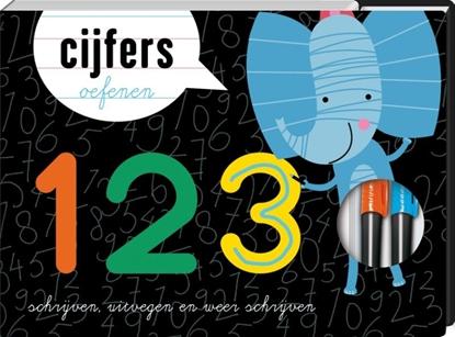 Afbeeldingen van 123 cijfers oefenen