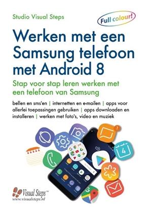 Afbeeldingen van Werken met een Samsung telefoon met Android 8