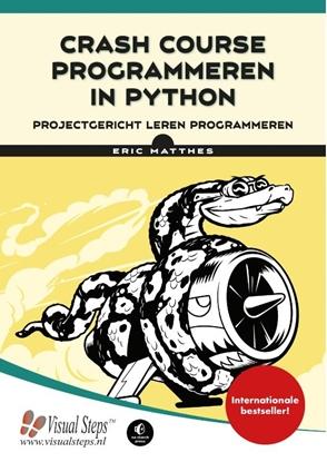 Afbeeldingen van Crash course programmeren in Python