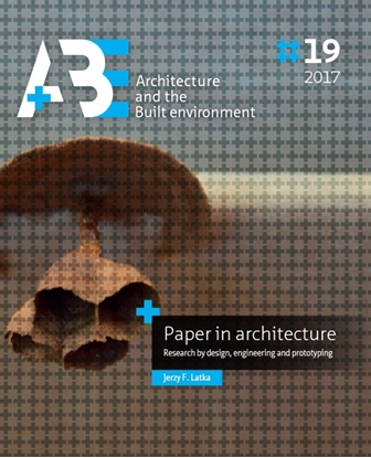 Afbeeldingen van A+BE Architecture and the Built Environment Paper in architecture