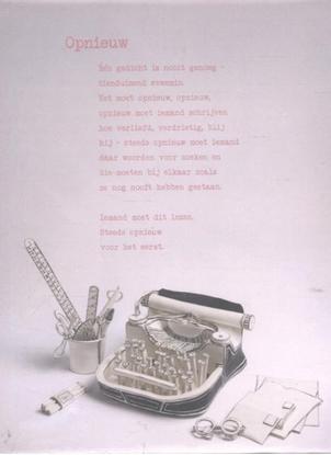 Afbeeldingen van Plint 10 poëziekaarten plint Kees Spiering