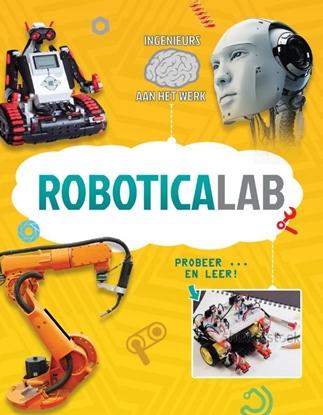 Afbeeldingen van Ingenieurs aan het werk Roboticalab