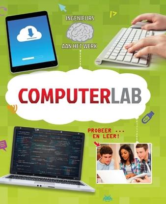 Afbeeldingen van Ingenieurs aan het werk Computerlab