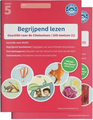 Afbeeldingen van Begrijpend lezen Compleet delen 1 en 2 Groep 5 deel 1/2 Oefenboeken