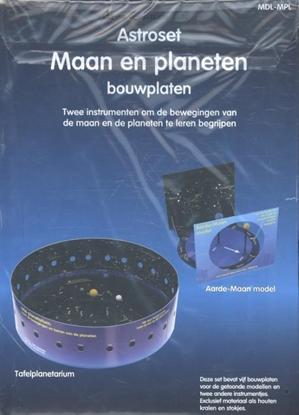 Afbeeldingen van Astroset maan en planeten bouwplaten