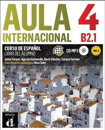 Afbeeldingen van Aula Internacional 4 Libro del alumno + MP3 versión original
