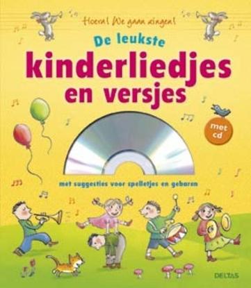 Afbeeldingen van De leukste kinderliedjes en versjes