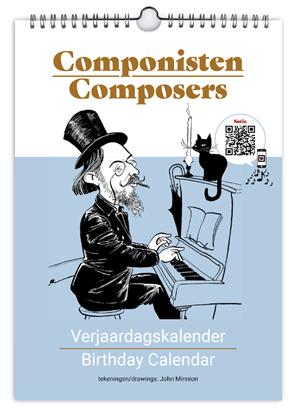 Afbeeldingen van Componisten Verjaardagskalender