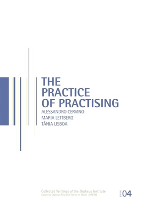 Afbeeldingen van Orpheus Instituut The practice of practising