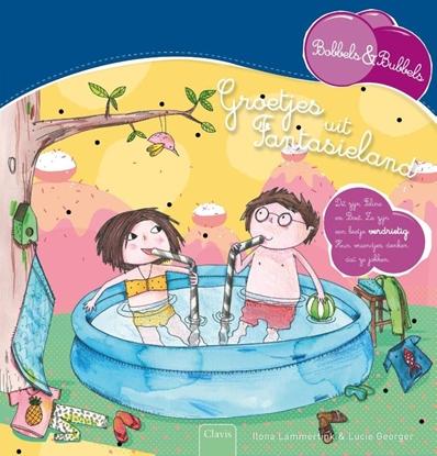 Afbeeldingen van Bobbels & Bubbels Groetjes uit Fantasieland