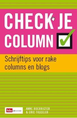 Afbeeldingen van Check je column