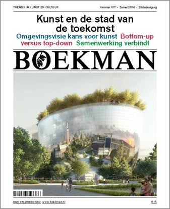Afbeeldingen van Boekman Kunst en de toekomst van de stad