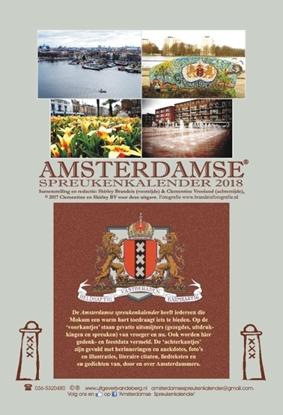 Afbeeldingen van Amsterdamse spreukenkalender 2018