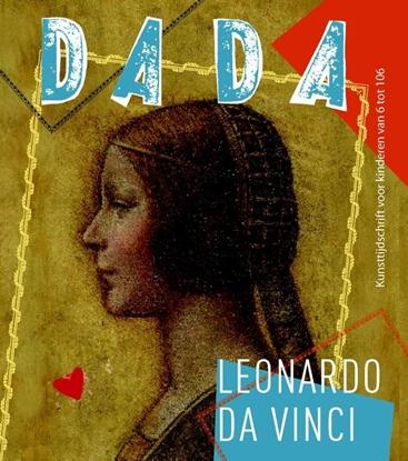 Afbeeldingen van Dada-reeks Leonardo da Vinci
