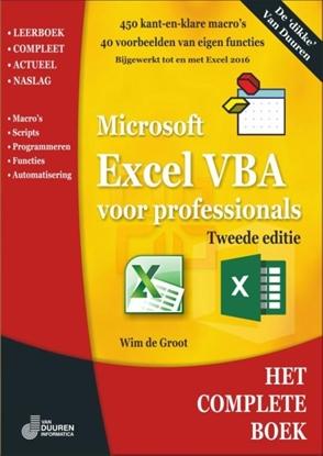 Afbeeldingen van Het complete boek Excel VBA voor professionals