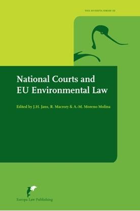 Afbeeldingen van Avosetta Series National Courts and EU Environmental Law