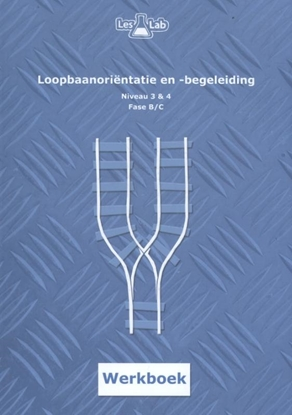 Afbeeldingen van LesLab LOB mbo niveau 3 en 4 Loopbaanoriëntatie en -begeleiding niveau 3 & 4 Fase B Werkboek
