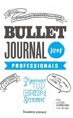 Afbeeldingen van Bullet Journal voor professionals