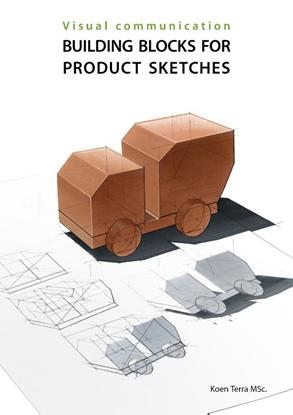 Afbeeldingen van Visual communication Building blocks for product sketches