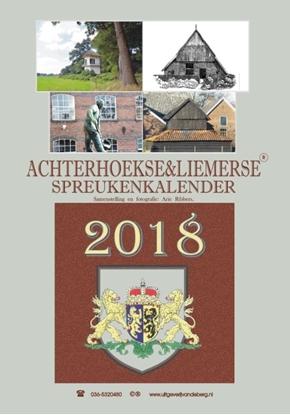 Afbeeldingen van Achterhoekse & liemerse spreukenkalender 2018