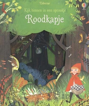 Afbeeldingen van Kijk binnen in een sprookje - Roodkapje