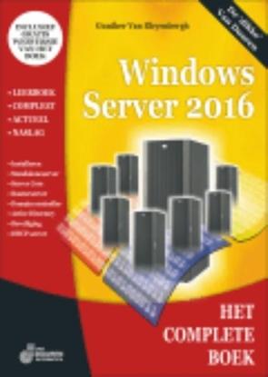 Afbeeldingen van Het complete boek Het complete boek windows server 2016