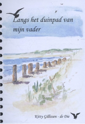 Afbeeldingen van Aquarelboekjes West Zeeuws Vlaanderen en het Zwin Langs het duinpad van mijn vader