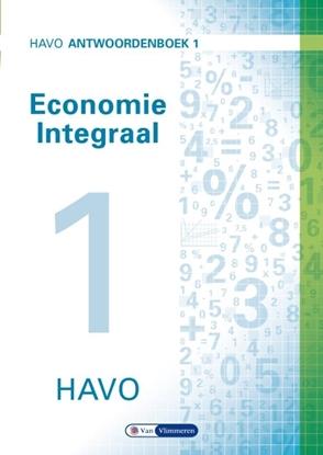 Afbeeldingen van Economie integraal havo Antwoordenboek 1