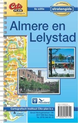 Afbeeldingen van Citoplan Citoplan stratengids Almere Lelystad