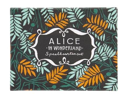Afbeeldingen van Alice in Wonderland - Speelkaartenset