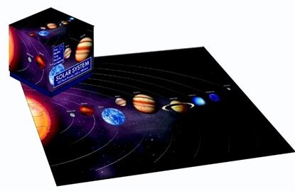 Afbeeldingen van 100 Piece Cube Jigsaw Solar System Planet