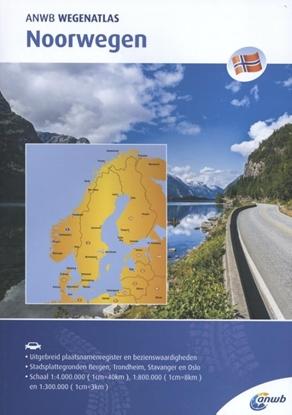 Afbeeldingen van ANWB wegenatlas Noorwegen