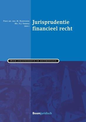 Afbeeldingen van Boom Jurisprudentie en documentatie Verzamelde rechtspraak inzake financieel recht