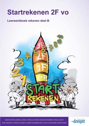 Afbeeldingen van Startrekenen 2F vo Deel B rekenen Leerwerkboek