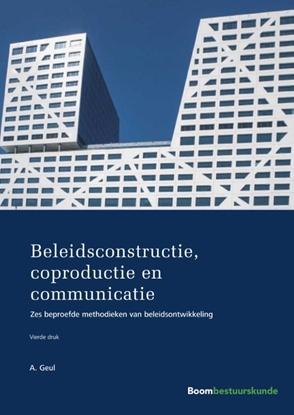 Afbeeldingen van Beleidsconstructie, coproductie en communicatie