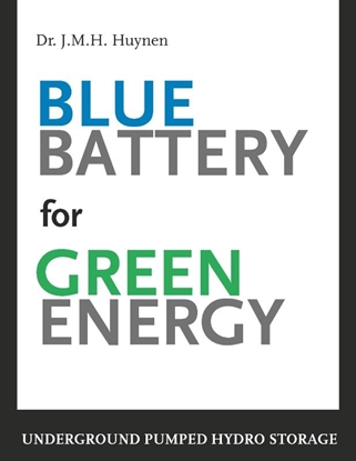 Afbeeldingen van Blue battery for green energy