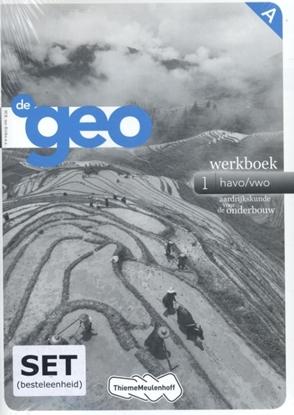 Afbeeldingen van De Geo 1 werkboek havo/vwo