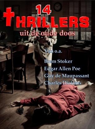 Afbeeldingen van 14 Thrillers uit de oude doos