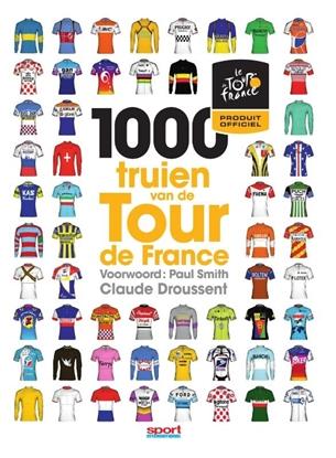 Afbeeldingen van 1000 truien van de Tour de France