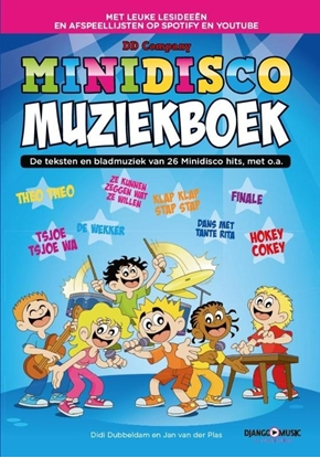 Afbeeldingen van Minidisco muziekboek