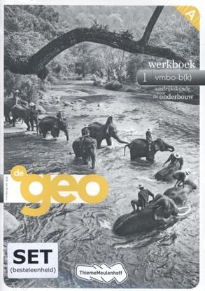 Afbeeldingen van De Geo 1 werkboek vmbo-bk