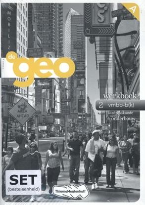 Afbeeldingen van De Geo 2 Werkboek vmbo-bk