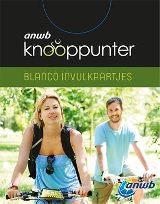 Afbeeldingen van ANWB Knooppunter (blanco invulkaartjes) set 4 exemplaren