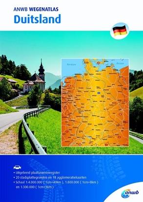 Afbeeldingen van ANWB wegenatlas Duitsland