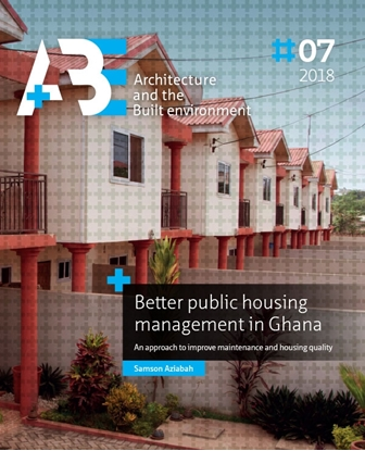 Afbeeldingen van A+BE Architecture and the Built Environment Better public housing management in Ghana