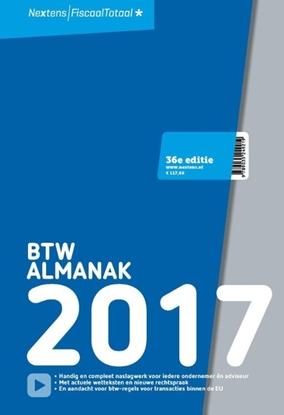 Afbeeldingen van Nextens BTW Almanak 2017